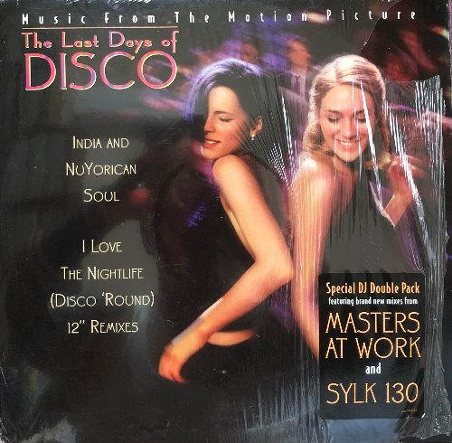 THE LAST DAYS OF DISCO - I Love The Nightlife / Motion Picture (2LP)