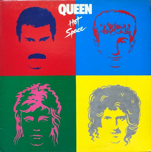 QUEEN - HOT SPACE (해설지)