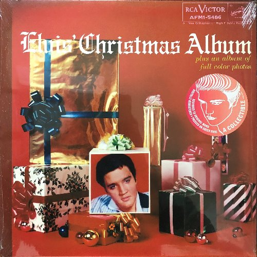 "ELVIS PRESLEY - ELVIS CHRISTMAS ALBUM (""RED STICKER A COLLECTIBLE Green Vinyl"")"