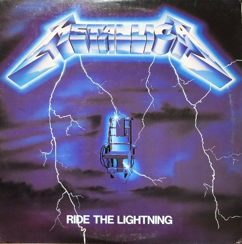 "METALLICA - RIDE THE LIGHTNING (""Megaforce original first 60396-1"")"