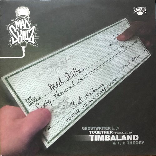 MAD SKILLZ + TIMBALAND - GHOST WRITER / 1,2 THEORY / TOGETHER (Rap & Hip-Hop)