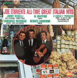 Joe O'brien's All-time Great Italian Hit (Domenico Modugno VOLARE 오리지날 외....)