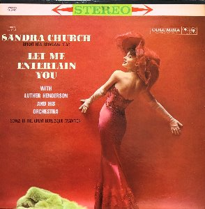 SANDRA CHURCH - LET ME ENTERTAIN YOU