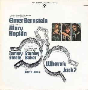 WHERE´S JACK ? - SOUNDTRACK / ELMER BERNSTEIN (Title Song Mary Hopkin)