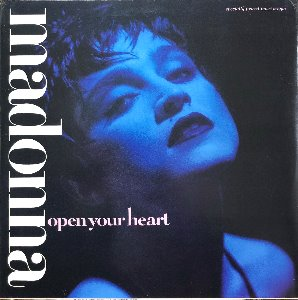MADONNA - Open Your Heart (12인지 45rpm싱글)