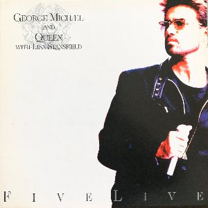 GEORGE MICHAEL AND QUEEN WITH LISA STANSFIELD - FIVE LIVE (해설지)