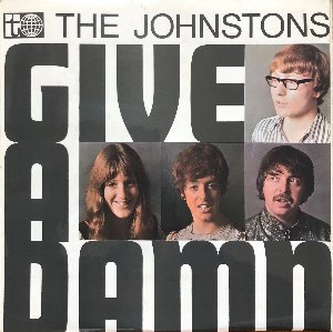 "THE JOHNSTONS - GIVE A DAMN  (""UK 1st PRESSING 1969 RARE"")"
