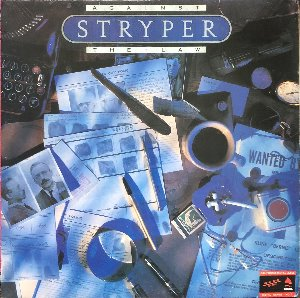STRYPER - AGAINST THE LAW (해설지)