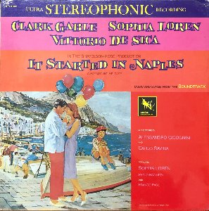 It Started In Naples - OST  Cicognini, Sophia Loren
