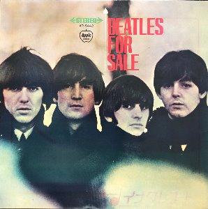BEATLES - BEATLES FOR SALE (가사지)
