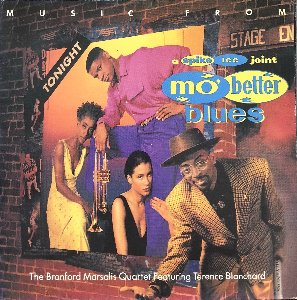 MO BETTER BLUES - Music From Mo' Better Blues / OST (해설지)