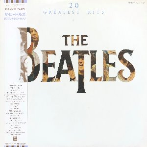 "BEATLES - 20 Greatest Hits (""OBI/컬러가사지"")"