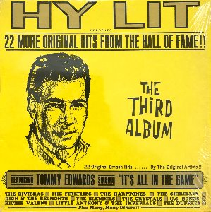 HY LIT - 22 More Original Hits From The Hall Of Fame !! / The Third Album