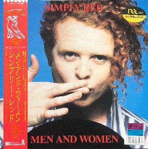 Simply Red - Men And Women (가사지/OBI')