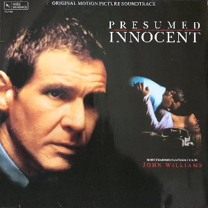 "PRESUMED INNOCENT / 의혹 - OST (""JOHN WILLIAMS/Harrison Ford"")"