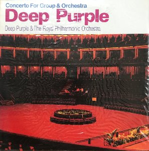 DEEP PURPLE / THE ROYAL PHILHARMONIC ORCHESTRA - CONCERT FOR GROUP & ORCHESTRA (미개봉)