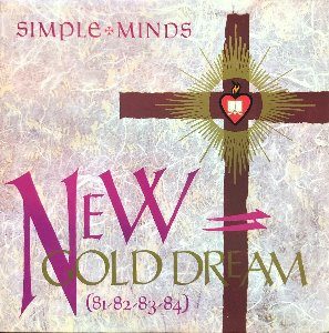 "Simple Minds - New Gold Dream (""Gold Marble Vinyl"")"