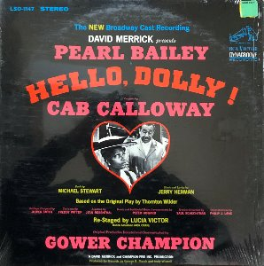 HELLO, DOLLY ! (Pearl Bailey, Cab Calloway) - Soundtrack OST