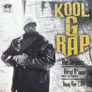 Kool G Rap ‎– The Streets / First Nigga (Rap & Hip-Hop)