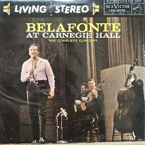 HARRY BELAFONTE - BELAFONTE AT CARNEGIE HALL (2LP/미개봉)