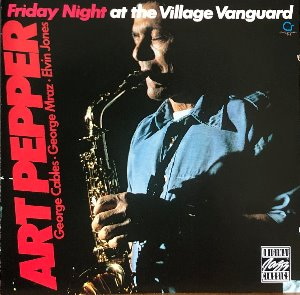 Art Pepper - Saturday Night at the Village Vanguard (CD)