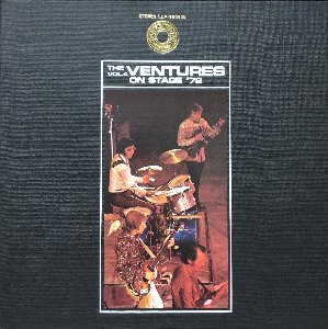 VENTURES - THE VENTURES ON STAGE '72 (해설지/2LP)