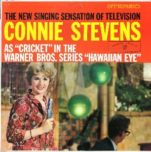 "CONNIE STEVENS - As ""Cricket"" Warner Bros ""Hawaiian Eye"""