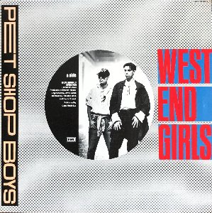 PET SHOP BOYS - West End Girls (12인지 45rpm EP) 가사지