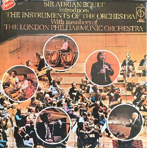 SIR ADRIAN BOULT INTRODUCES THE INSTRUMENTS OF THE ORCHESTRA (미개봉)