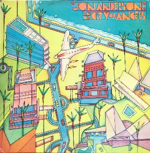 JON ANDERSON - IN THE CITY OF ANGELS (PROMO각인/화이트라벨)