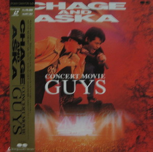 CHAGE AND ASKA - Concert Movie Guys (LASER DISC)