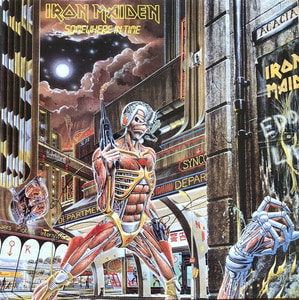 IRON MAIDEN - SOMEWHERE IN TIME (해설지)