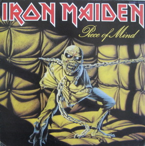 IRON MAIDEN - PIECE OF MIND (준라이센스)