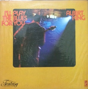 ALBERT KING - I'LL PLAY THE BLUES FOR YOU (미개봉)