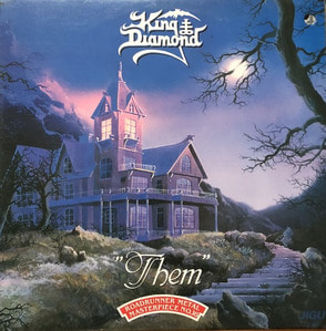 KING DIAMOND - THEM (해설지)