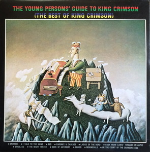 KING CRIMSON - The Young Persons' Guide To King Crimson/The Best Of King Crimson (2LP)