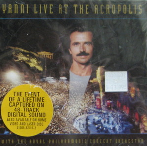 YANNI - LIVE AT THE ACROPOLIS WITH THE ROYAL PHILHARMINIC (미개봉/CD)