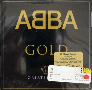 ABBA - GOLD GREATEST HITS (미개봉/CD)