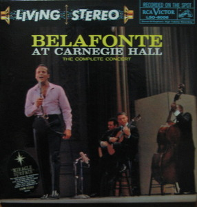 "HARRY BELAFONTE - AT CARNEGIE HALL (2LP) ""퍼팩트퀀디션"""
