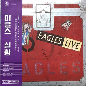 EAGLES - LIVE (OBI'/2LP)