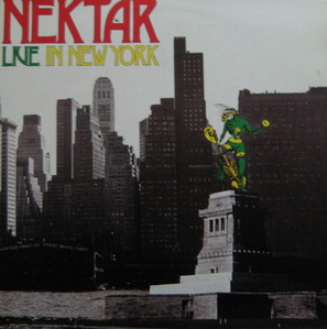 NEKTAR - LIVE IN NEW YORK (준라이센스/2LP)