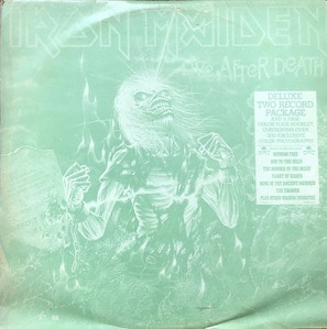 IRON MAIDEN - LIVE AFTER DEATH (해적판/2LP)