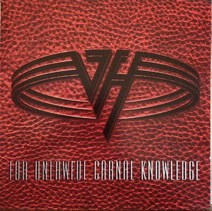 VAN HALEN - FOR UNLAWFUL CARNAL KNOWLEDGE (해설지)