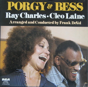 RAY CHARLES & CLEO LAINE - Porgy & Bess (2LP BOX)