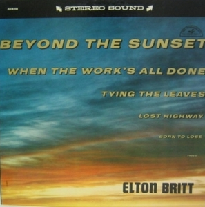ELTON BRITT - Beyond The Sunset