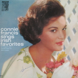 "CONNIE FRANCIS - SINGS IRISH FAVORITES (""DANNY BOY"")"