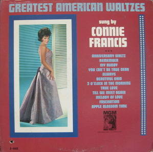 CONNIE FRANCIS - GREATEST AMERICAN WALTZES