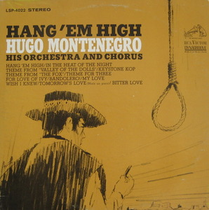 HUGO MONTENEGRO - Hang 'Em High SOUNDTRACK