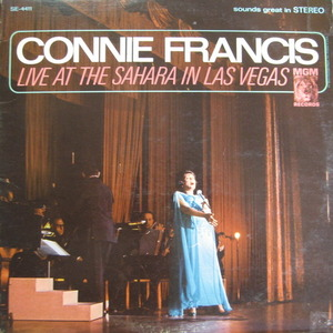 CONNIE FRANCIS - LIVE AT THE SAHARA IN LAS VEGAS