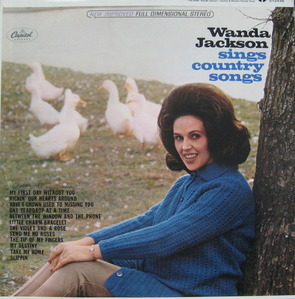 "WANDA JACKSON - SINGS COUNTRY SONGS (""ROCKABILLY ORIG"")"